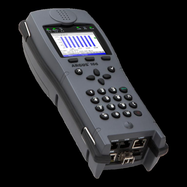 Argus 166 xDSL Test Cihazı
