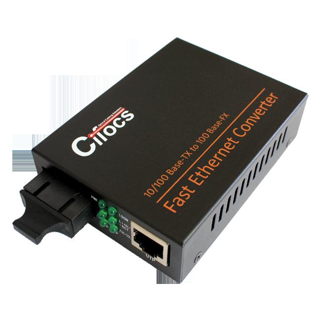 Cifocs CFC-1100 10/100M Multi Mode Fiber Optik Ethernet Dönüştürücü