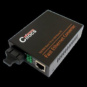 Cifocs CFC-1100S25 10/100M Single Mode Fiber Optik Ethernet Dönüştürücü