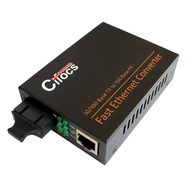 Cifocs CFC-1100S25 10/100M Single Mode Fiber Optik Ethernet Dönüştürücü