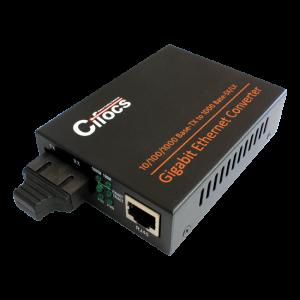 Cifocs CFC-2200 10/100/1000M Multi Mode Fiber Optik Ethernet Dönüştürücü