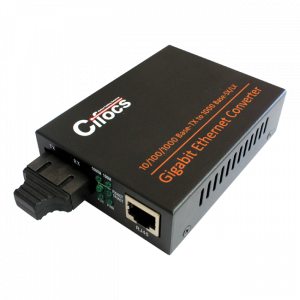 Cifocs CFC-2200S20 10/100/1000M Single Mode Fiber Optik Ethernet Dönüştürücü