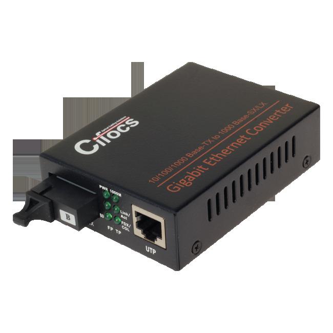 Cifocs CFC-3200S20 10/100/1000M fiber optik ethernet dönüştürücü