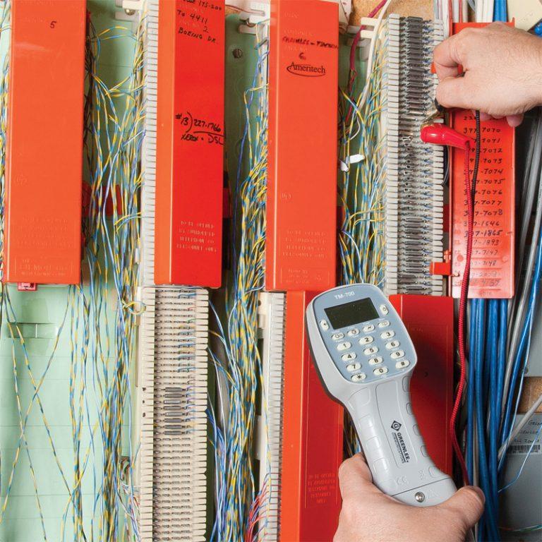 Tempo Tele-Mate Pro TM-700 Analog Test Telefonu