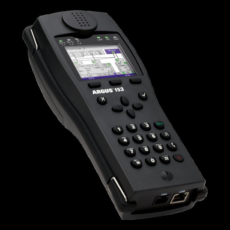 Argus 153 VDSL + ADSL Test Cihazı
