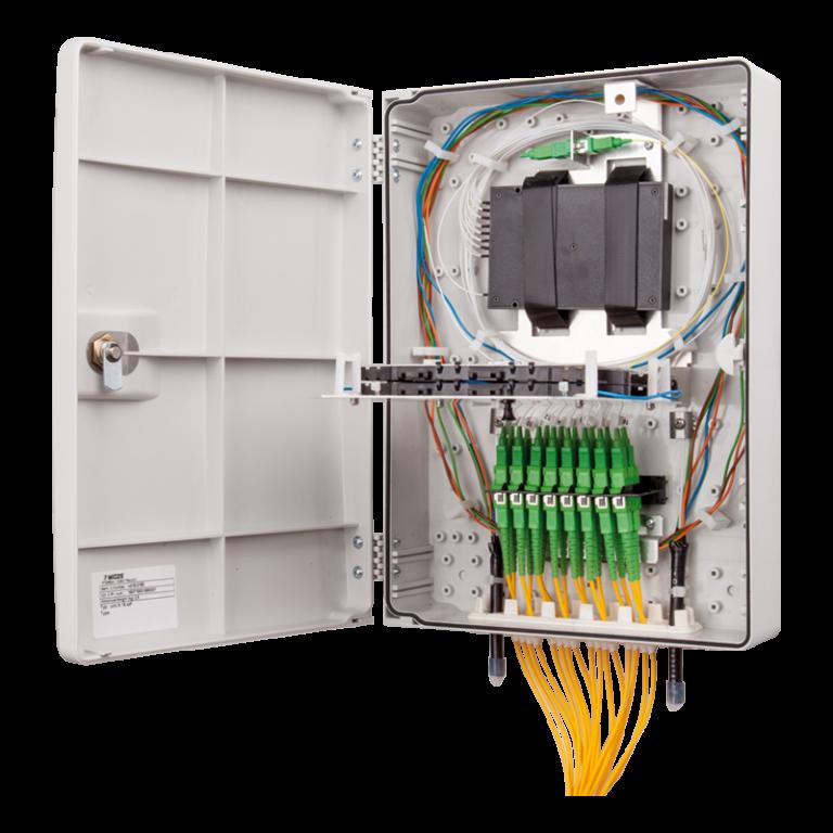 Micos URM LH 16 SDF Fiber Optik Sonlandırma Kutusu