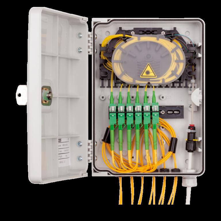 Micos URM SL 12C Fiber Optik Sonlandırma Kutusu