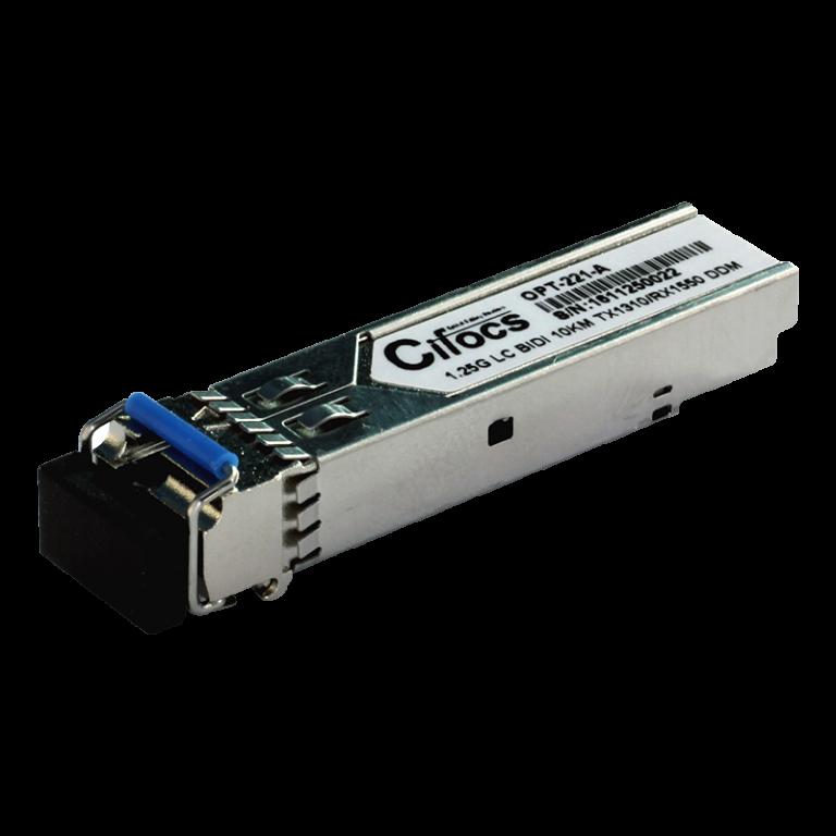 Cifocs CFC-SFP-GIG-LH10-A 1.25G Single Mode 10km BiDi SFP Modül