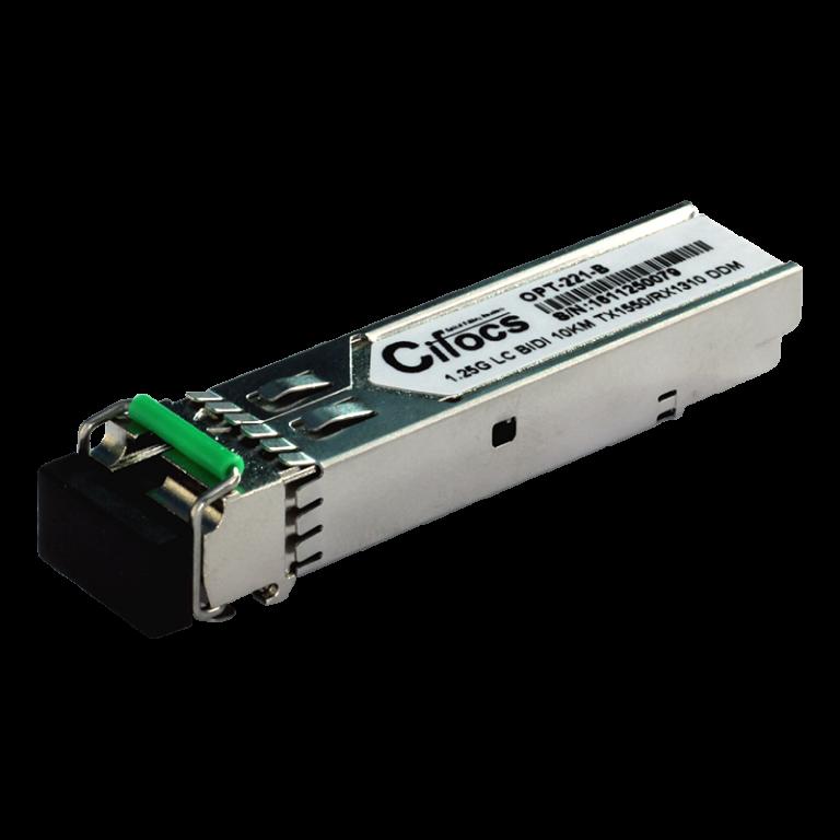 Cifocs CFC-SFP-GIG-LH10-B 1.25G Single Mode 10km BiDi SFP Modül