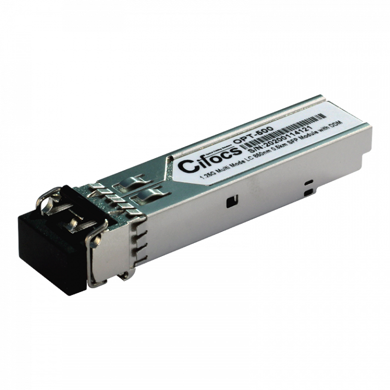 Cifocs CFC-SFP-GIG-SH 1.25G Multi Mode 0.5km SFP Modül