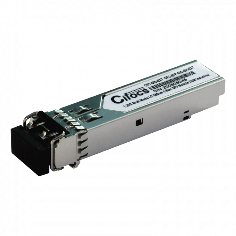 Cifocs CFC-SFP-GIG-SH-EXT 1.25G Multi Mode 0.5km Endüstriyel SFP Modül
